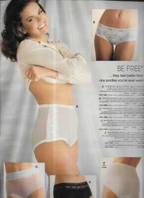$16.99 • Buy Shapely Woman In Be Free Panties Vintage Catalog Lingerie Photo Clipping