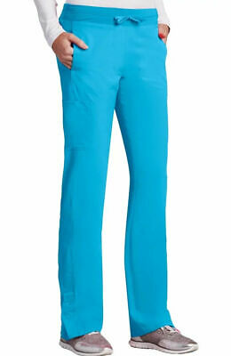 $11.35 • Buy Barco One Style 5205 Elastic/Draw Cargo Scrub Pant In Brilliant Blue, Size 2XL