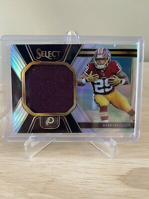 $0.99 • Buy 2018 Select Derrius Guice Jersey Card 63/99 Redskins