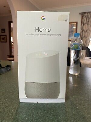 AU75 • Buy Google Home Smart Assistant - White Slate
