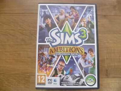 The Sims 3: Ambitions Expansion Pack (PC: Mac } • 4.99£