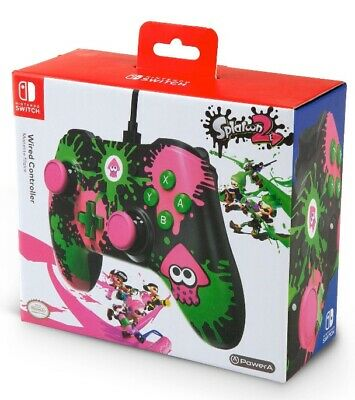 $14.99 • Buy Nintendo Switch Splatoon 2 Edition Wired Controller By PowerA - Brand New