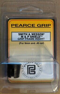 $7.99 • Buy Pearce Grip Frame Insert For S&W M&P Shield 9mm 40SW Cavity Plug PG-FIMPS - NEW