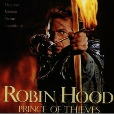 Robin Hood - Prince Of Thieves (original Soundtrack) Cd New • 45.18£