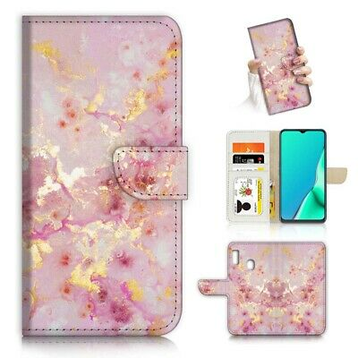 AU12.99 • Buy ( For Huawei Y7 2019 / Y7 Pro 2019 ) Case Cover PB23157 Pink Crystal Marble