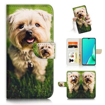 AU12.99 • Buy ( For Oppo A73 ) Flip Wallet Case Cover PB23035 Puppy Dog