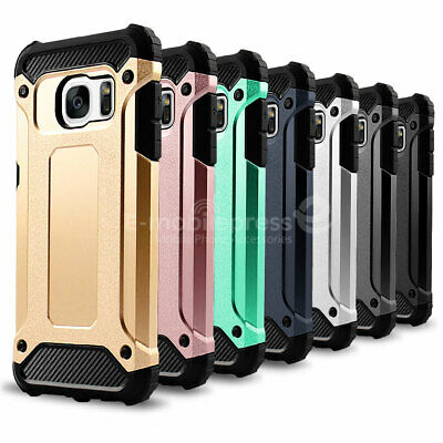 $ CDN8.83 • Buy For Samsung Galaxy S7/S7 Edge Case Hybrid Shockproof PC Silicone Hard Case Cover