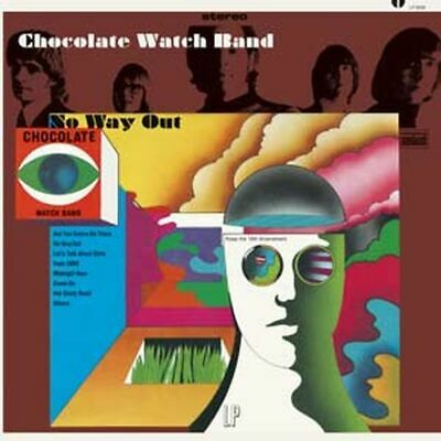Chocolate Watch Band - No Way Out    Cd New • 23.49£
