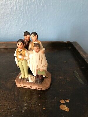 $ CDN10.38 • Buy Norman Rockwell Gorham Porcelain Figurine Four Boys Singing