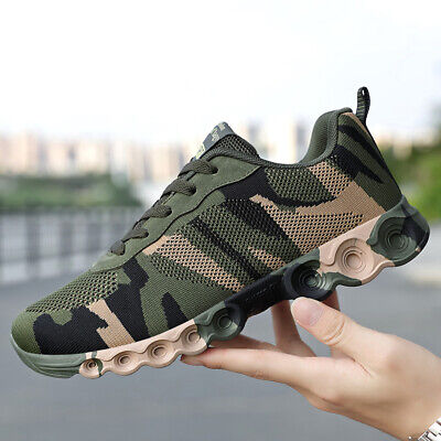 £20.50 • Buy Men's Camouflage Training Shoes Lace Up Breathable Sneakers Athletics Shoes HOT