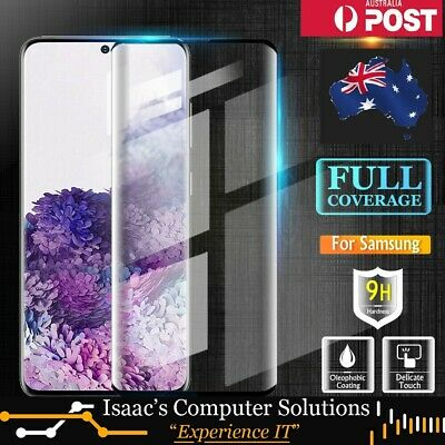 AU5.99 • Buy For Samsung Galaxy S7,8,9,10,20,Edge & Note Full Tempered Glass Screen Protector