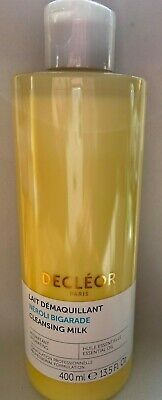 Decleor Neroli Bigarade Cleansing Milk 400ml NEW STOCK SEALED  RRP £36 • 26£