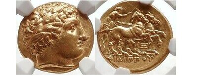 £10140.52 • Buy Philip II - Father Of Alexander The Great - Gold Stater NGC Certified