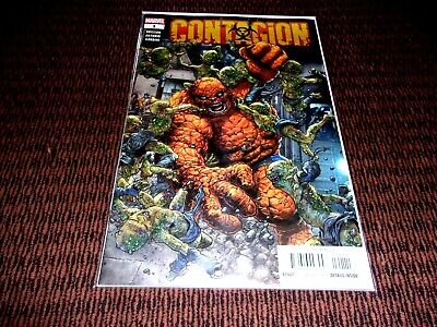 Contagion #1 2019 MARVEL THING FF IRON FIST MOON KNIGHT Bag/Board FREE SHIPPING! • 5.68£
