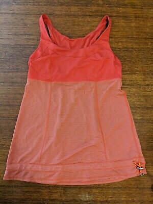 $ CDN29.95 • Buy Lululemon Tank Top Size 8 Red Drawstring Silverescent