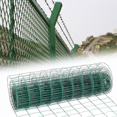 £75.95 • Buy Metal Post Hole Stakes Crop Protection Fence Border Wire Garden Green Mesh Nets