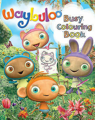 Waybuloo Busy Colouring Book By Egmont UK Ltd (Paperback, 2011) • 2.70£