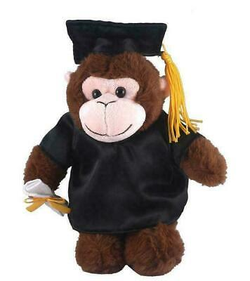 $ CDN30.22 • Buy Personalized Monkey Gift For Graduation Day - 12  Plush Monkey Class Of 2020