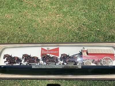 $ CDN6294.25 • Buy Budweiser Champion Clydesdale Team Light And Sign, Vintage 1960s