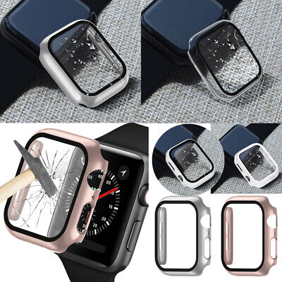 $ CDN6.78 • Buy For Apple Watch Series 5/4/3/2/1 Tempered Glass FULL Screen Protector Cover Case