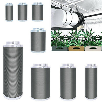 Carbon Filter Tube Grow Room Tent Hydroponic Odour Control Ducting Air Removal • 103.14£