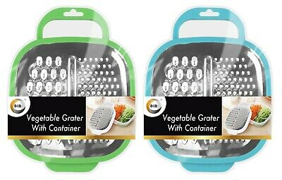 £5.45 • Buy  Cheese FOOD GRATER WITH CONTAINER Vegetable Carrot  Shredder Various Colours