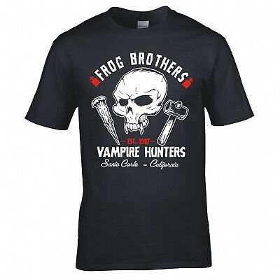 £10.99 • Buy Inspired By The Lost Boys  Frog Brothers Vampire Hunters  T-shirt