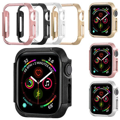 $ CDN5.47 • Buy Watch Case Ultrathin Slim Cover Fit For Apple Watch Series 5 / 4 PC Protective