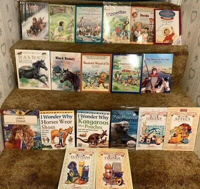 $18.99 • Buy Lot 19 Classic Stories & Essential Values Chick-fil-a Kids Meal Softcover Books