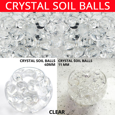 AU8.41 • Buy Jumbo Orbeez Transparent Expanding 11/40mm Magic Water Ball Large Beads Clear
