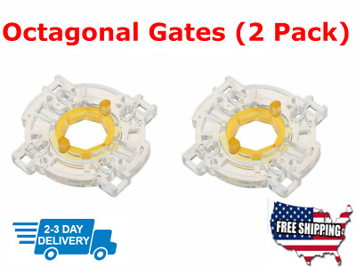 $10.95 • Buy 2 Octagonal Restrictor Gates GT-Y For Sanwa JLF Joysticks Seimitsu Zippy Arcade