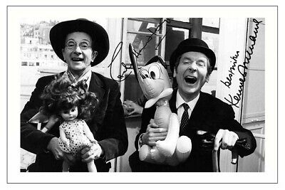 £1.89 • Buy Charles Hawtrey & Kenneth Williams Signed Photo Print Autograph Carry On