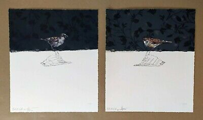 £675 • Buy Charming Baker - Love Bird 1 & 2 Prints Matching Numbers Limited Edition 21/125