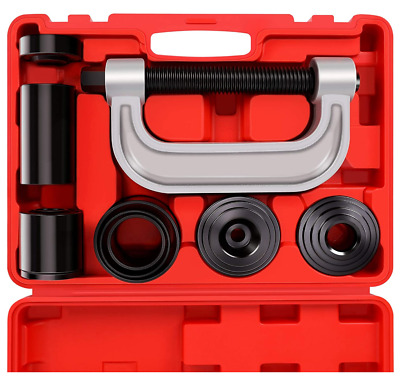 $64.91 • Buy Heavy Duty Car Truck Ball Joint Press & U Joint Removal Tool Kit W/ 4x4 Adapters