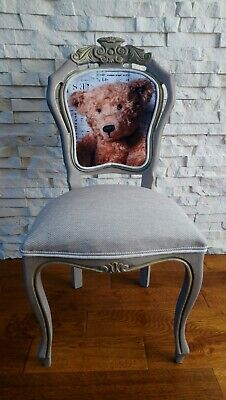 Shabby Chic French Style Carve Chair • 99£