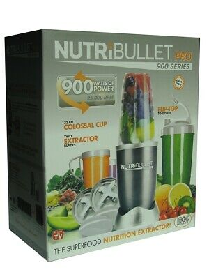AU99.45 • Buy NutriBullet PRO 18 Pieces 900W Blender Mixer Extractor
