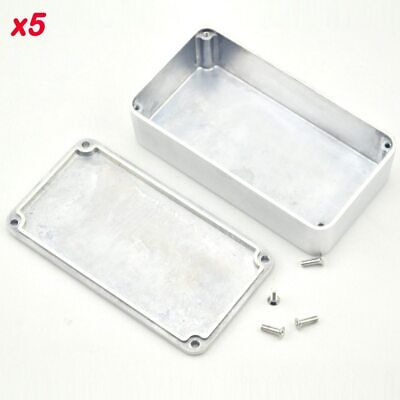 $ CDN41.26 • Buy 5PCS/Lot 1590B/ Style Guitar Effects Pedal Aluminum Stomp Box Enclosure For  ...
