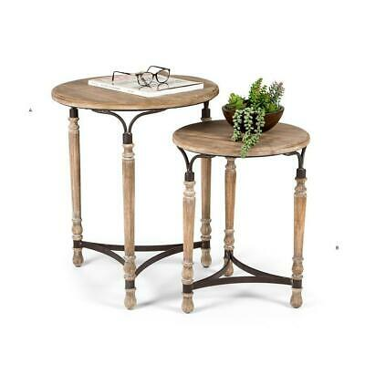 AU279.95 • Buy French Provincial Tables Round Side Occasional Bedside Table Furniture 51x62cm