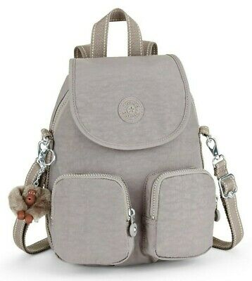 Kipling FIREFLY UP Small Backpack Covertible To Shoulder Bag - Urban Grey C • 69£