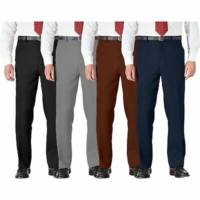 Men BHS Atlantic Bay Active Stretch Waist Trousers Cotton Chino Work Lightweight • 6.99£