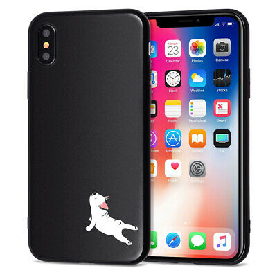 AU6.98 • Buy Cute Funny Dog Case IPhone 6s 7 8+ X XS XR 11 Pro MAX Soft Silicone TPU Cover