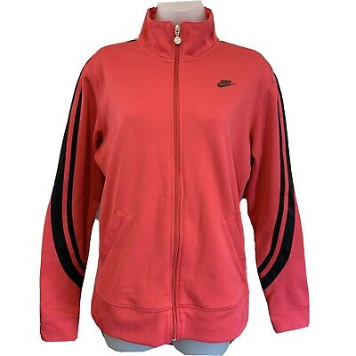 Nike  Tracksuit Top  Womens  L Large  Pink  Sport Track Jacket  • 16.95£