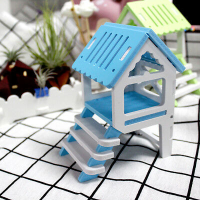 Small Animal Pet Hamster Creative Home Squirrel Ladder House Nest Cage IT • 3.93£