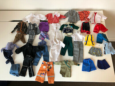 $ CDN10 • Buy Vintage Barbie Clothing Lot - 1960's And More - Ken Clothing