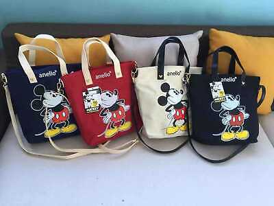AU28.69 • Buy Anello Canvas Mickey Mouse Printed Handbag