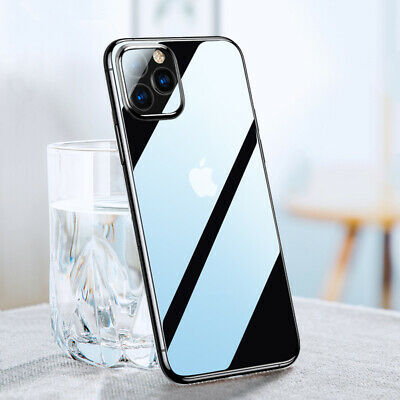 CRYSTAL CLEAR CASE IPhone 11 Pro Max XS XR X 8 7 Protector Shockproof Hard Cover • 2.79£