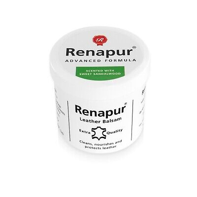 Renapur Leather Balsam 200ml - Scented With SWEET SANDALWOOD • 13.50£