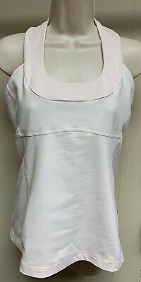 $ CDN52.83 • Buy Lululemon Pink Tank With Built In Bra Size 10
