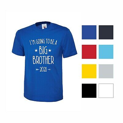Boys T Shirt I'm Going To Be A Big Brother 2021 2022 Pregnancy Announcement Kids • 7.99£