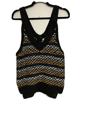 AU26.50 • Buy Ecote Urban Outfitters Cotton Vest Nwt,small